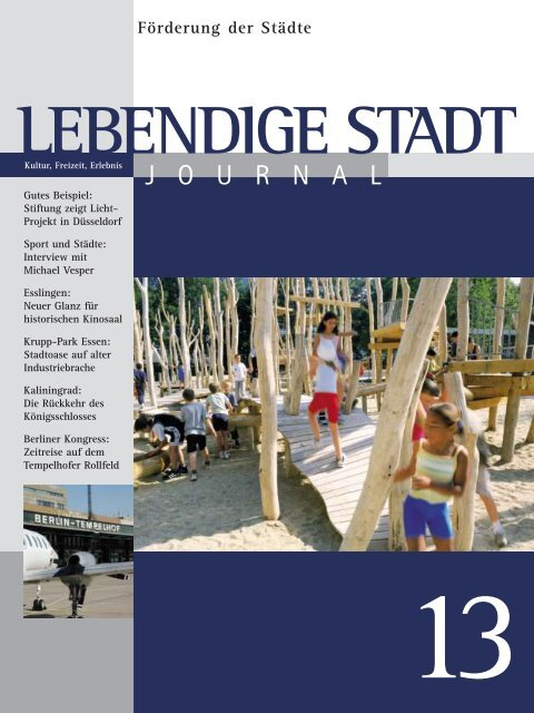 Lebendige Stadt - Andrea Peus | Journalistin