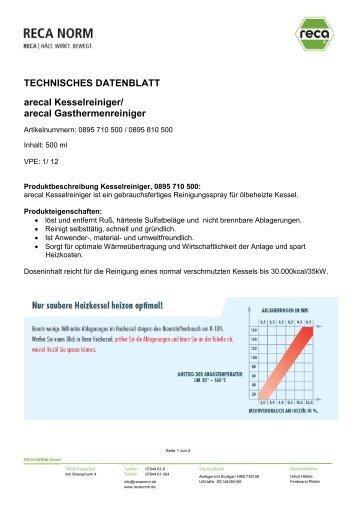 0895_710_500 Kesselreiniger - RECA NORM
