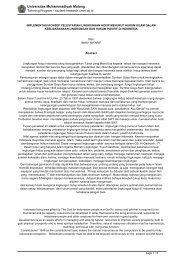 implementasi konsep pelestarian lingkungan hidup menurut hukum ...