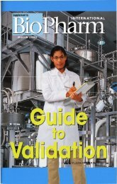 Biopharm Guide to Validation