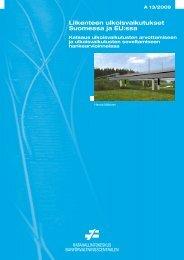 Liikenteen ulkoisvaikutukset Suomessa ja EU:ssa - Liikennevirasto