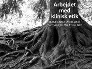 Link til Jakob Birkler indlæg - Dansk Selskab for Klinisk Etik