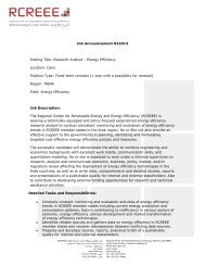 Job Announcement 022013 Posting Title: Research Analyst ...