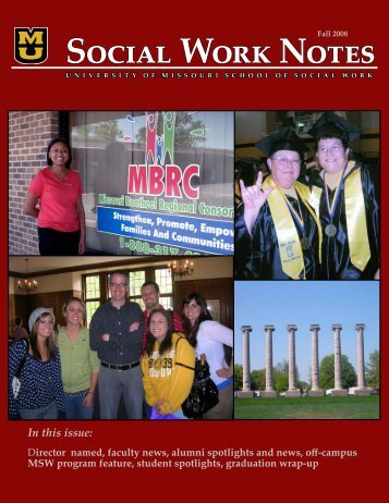 Social Work Notes - School of Social Work - University of Missouri