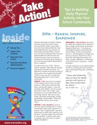 Daily Physical Activity in Schools – Grades 1 to 3 (PDF) - eWorkshop