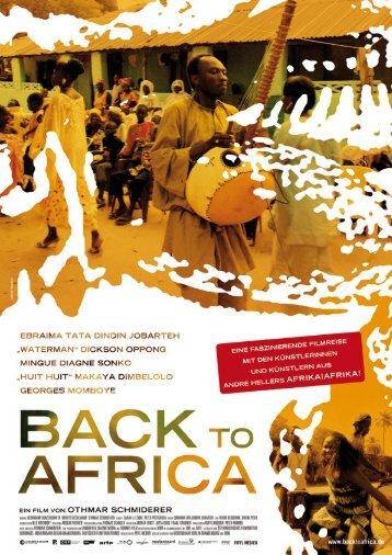 BACK TO AFRICA Ein Film von Othmar Schmiderer - Piffl Medien ...