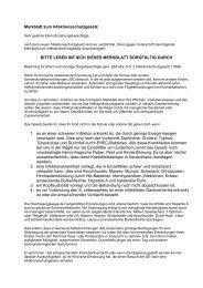Merkblatt zum Infektionsschutzgesetz - Astrid-Lindgren-Schule