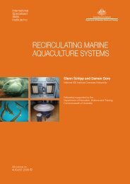 recirculating marine aquaculture systems - International Specialised ...