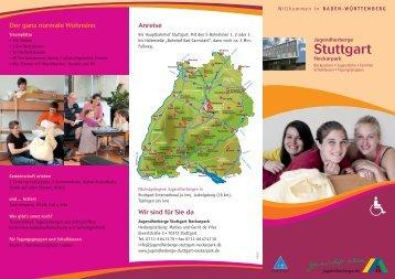 aktueller Hausprospekt - Jugendherberge Stuttgart Neckarpark