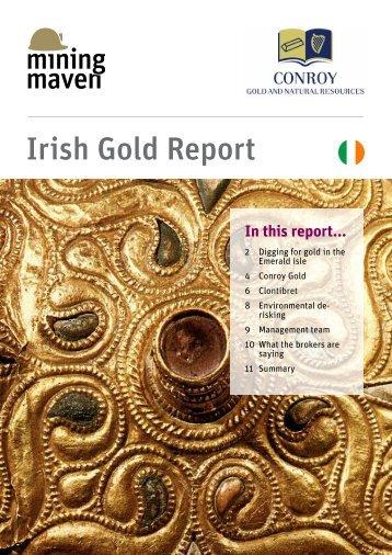 Download the Irish Gold Report - MiningMaven