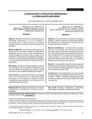 globalización y estrategia empresarial: la firma ... - Publicaciones