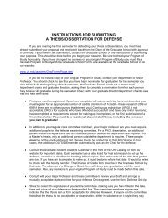 instructions for submitting a thesis/dissertation for defense