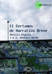 II Certamen de Narrativa Breve Revista Digital I.E.S. Ventura Morón