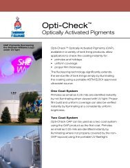 Opti-Check ™ Round-Up (PDF) - Protective Coatings, Protective ...
