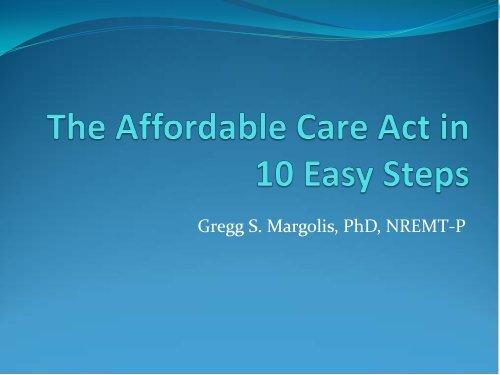 Gregg S. Margolis, PhD, NREMT-P