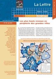 Les plus hauts revenus en périphérie des grandes ... - Epsilon - Insee