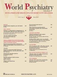 dünya psikiyatri birliği - World Psychiatric Association