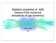 X-ray and multiwavelength emission in AGN: a theoretical ... - Inaf
