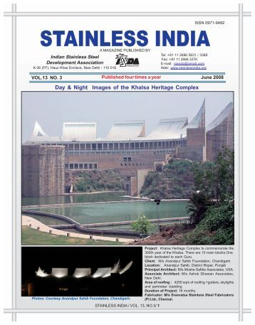 Stainless Steel: One World – One Market - Indian Stainless Steel ...