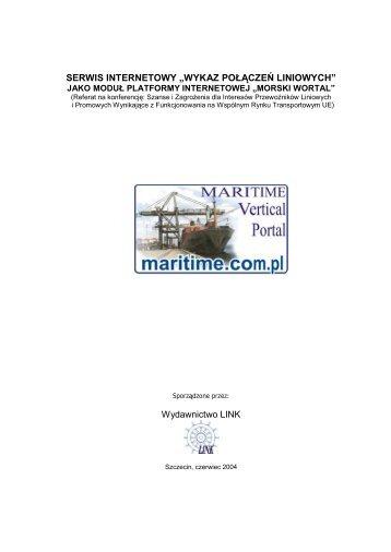 wykaz połączeń liniowych - Morski Wortal