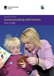 Communicating with Parents Our Code - Stirling Council