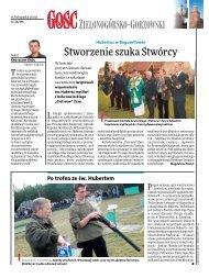 Gość Niedzielny Zielona Góra 46/2009 (pdf)