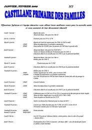 JANVIER /FEVRIER 2009 N°3 - Blanche de Castille