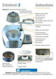 Erkoform 3 Manual - Glidewell Dental Labs