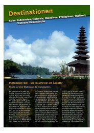 Asien: Bali, Sulawesi & West Papua, Malaysia ... - Roger Tours