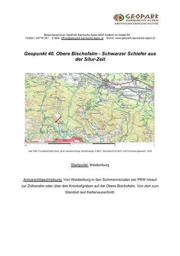 Geopunkt 40 - Geopark Karnische Alpen