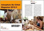 Inloophuis De Cirkel Magazine 2012-3