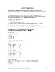 Introduction to Robotics Homework 3 & 4 Solution 1 / 5 - cribME!