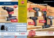 kr.: 1.248 - Bosch elektroverktøy