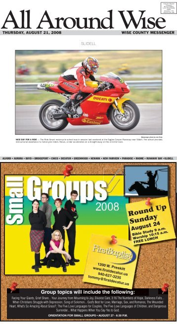 Round Up Sunday - Wise County Messenger