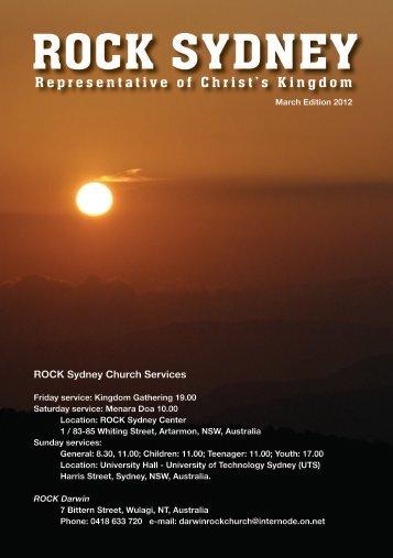 Disiplin Pribadi - ROCK Sydney Indonesian Church
