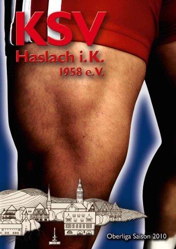 2010 - KSV Haslach