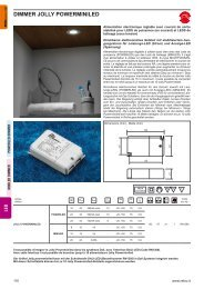 DIMMER JOLLY POWERMINILED - Relco