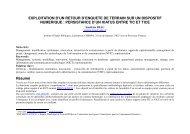 Exploitation d'un retour d'enquête de terrain sur ... - Sciences Po Aix