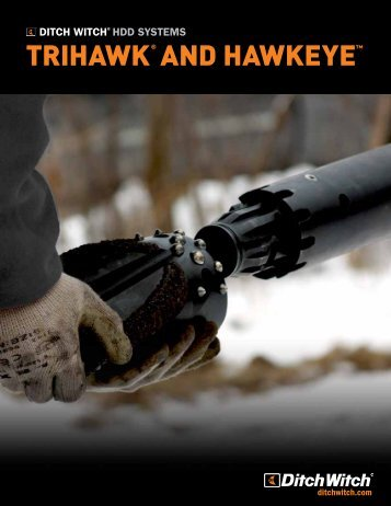 TriHawk HD Housing And Accessories - Ditch Witch