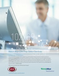 Welch Allyn EHR Prep-Select Services