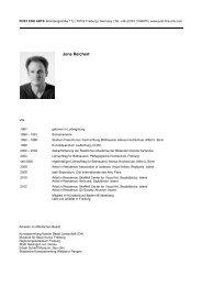 Jens Reichert - POST FINE ARTS