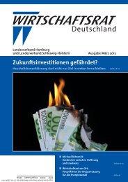 Ausgabe März 2013 7,21 MB - PDF - Wirtschaftsrat der CDU e.V.