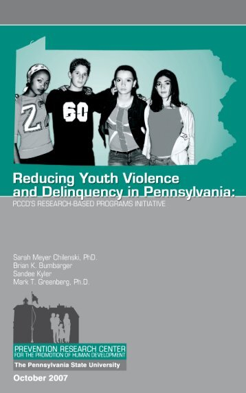 Reducing Youth Violence and Delinquency in Pennsylvania