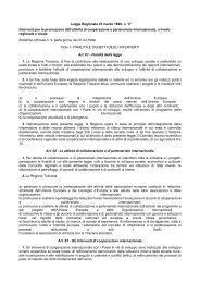 Legge Regionale 23 marzo 1999, n. 17 Interventi per la ... - Cesvot
