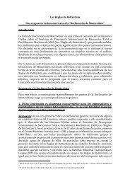 Las Reglas de Rotterdam Una respuesta Latinoamericana a la ...