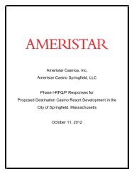 Ameristar Casinos, Inc. Ameristar Casino ... - City of Springfield