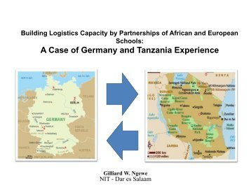 Building Logistics Capacity by Partnerships of African and European ...