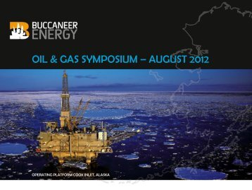 OIL & GAS SYMPOSIUM – AUGUST 2012 - Thewebconsole.com