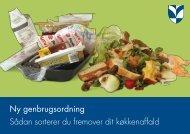 Ny genbrugsordning SÃ¥dan sorterer du fremover dit ... - Tankegang