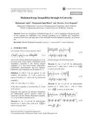 Hadamard-type Inequalities through h-Convexity - Pakistan ...
